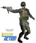 Zero Corps soldier
