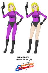 Spyshell - variations by Dangerman-1973