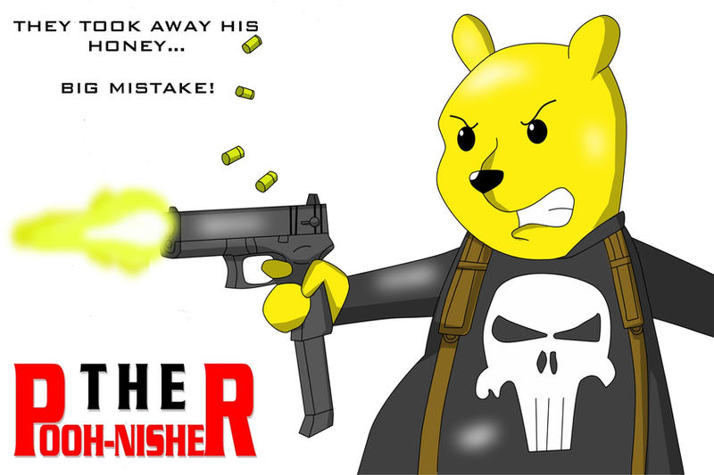 Winnie the Pooh-nisher by Dangerman-1973