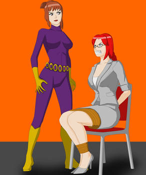 Purple Vixen and Rebecca Briggs - peril