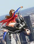 Superhawke-Blackhawke fight