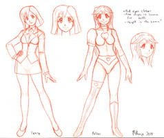 Penny-Pulsar Pureheart character design preview