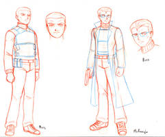 Mercs character design PP short comic preview