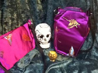 Butterfly purses by karrish