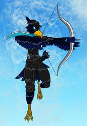 DND Character: Rook by JamesMcKadeComics