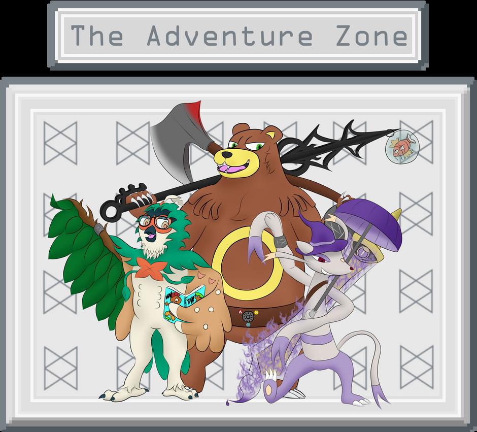 Adventure Zone Pokemon by JamesMcKadeComics