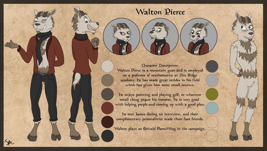 Walton Pierce by JamesMcKadeComics