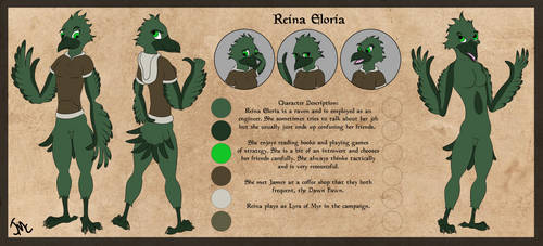 Reina Eloria by JamesMcKadeComics