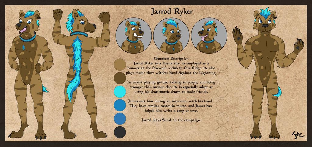 Jarrod Ryker by JamesMcKadeComics