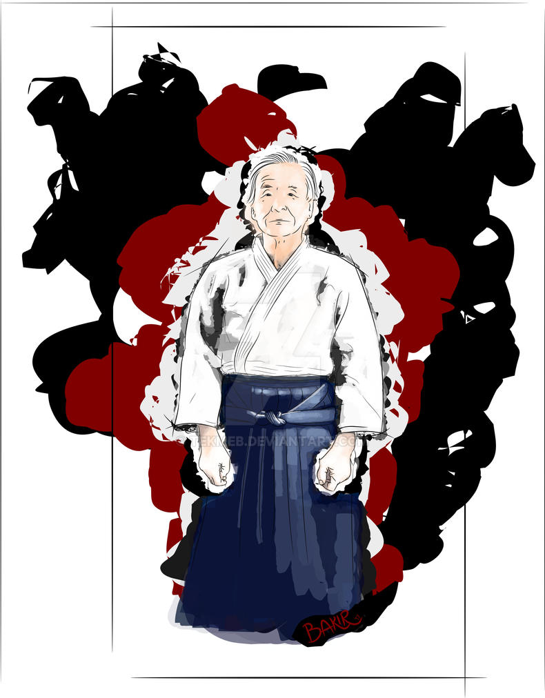 Sensei Nobuyoshi Tamura by tekmeb