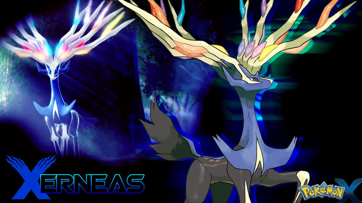 Pokemon x xerneas wallpaper by piplupwater on deviantart pokemon x xerneas wallpaper by piplupwater voltagebd Gallery