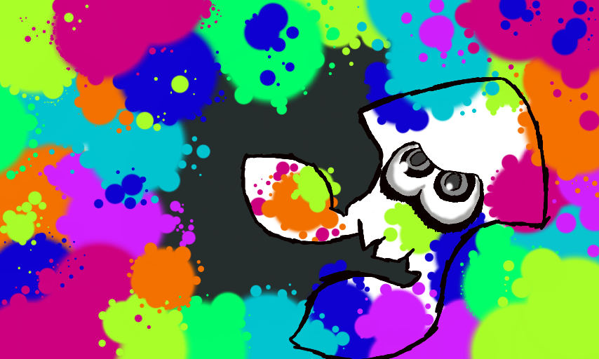 Splatoon: Inkling Squid by piplupwater