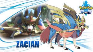 Pokemon Sword: Zacian Wallpaper