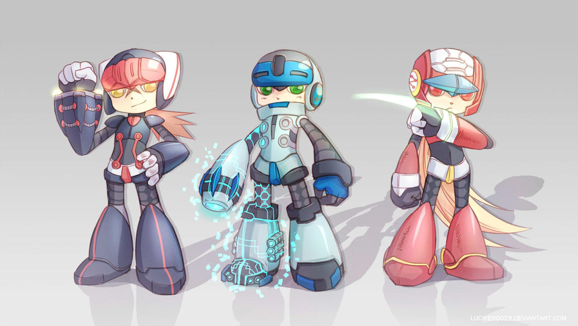 MIGHTY NO. 9 by LuciFer0029