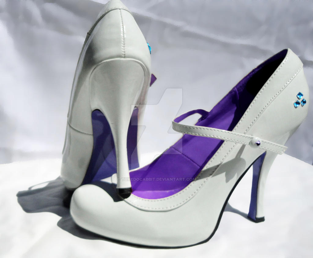 Rarity Cosplay Shoes #2 by TuxedoCabbit