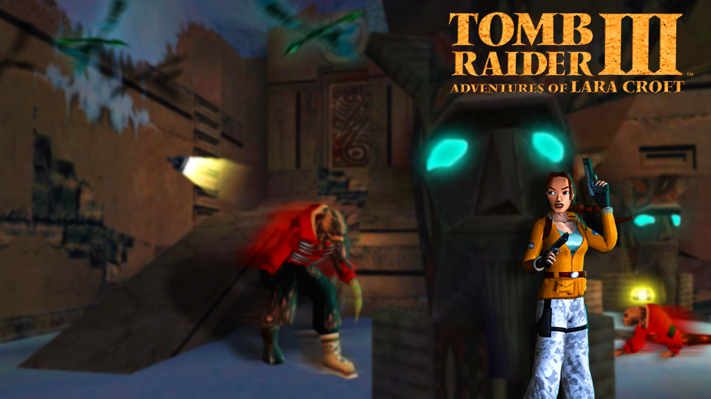 Tomb Raider 3 Adventures Of Lara Croft Wallpaper By Daniworld On Deviantart