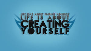 Creating Yourself Typo Wall