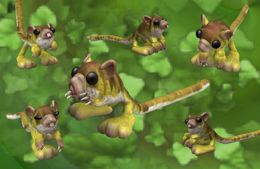 Spore - Pygmy Jerboa by LuciaSeriin