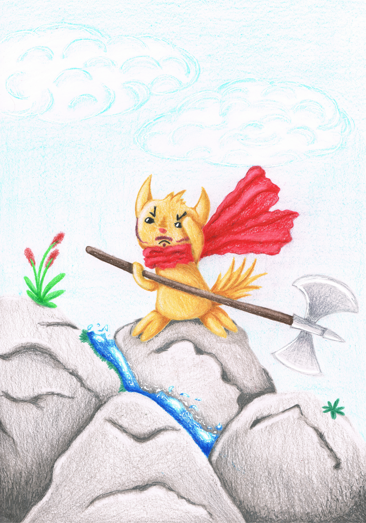 Brave Little Warrior by LuciaSeriin