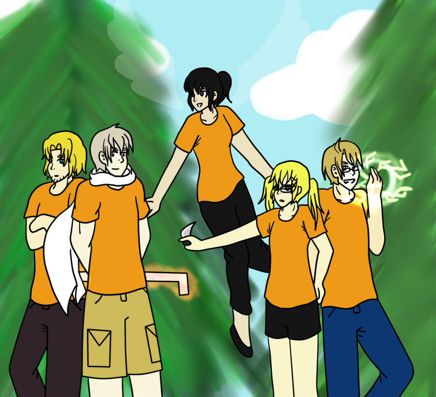 Hetalia- Demigods of the World Fanfic (Cover) by JStarPye on DeviantArt