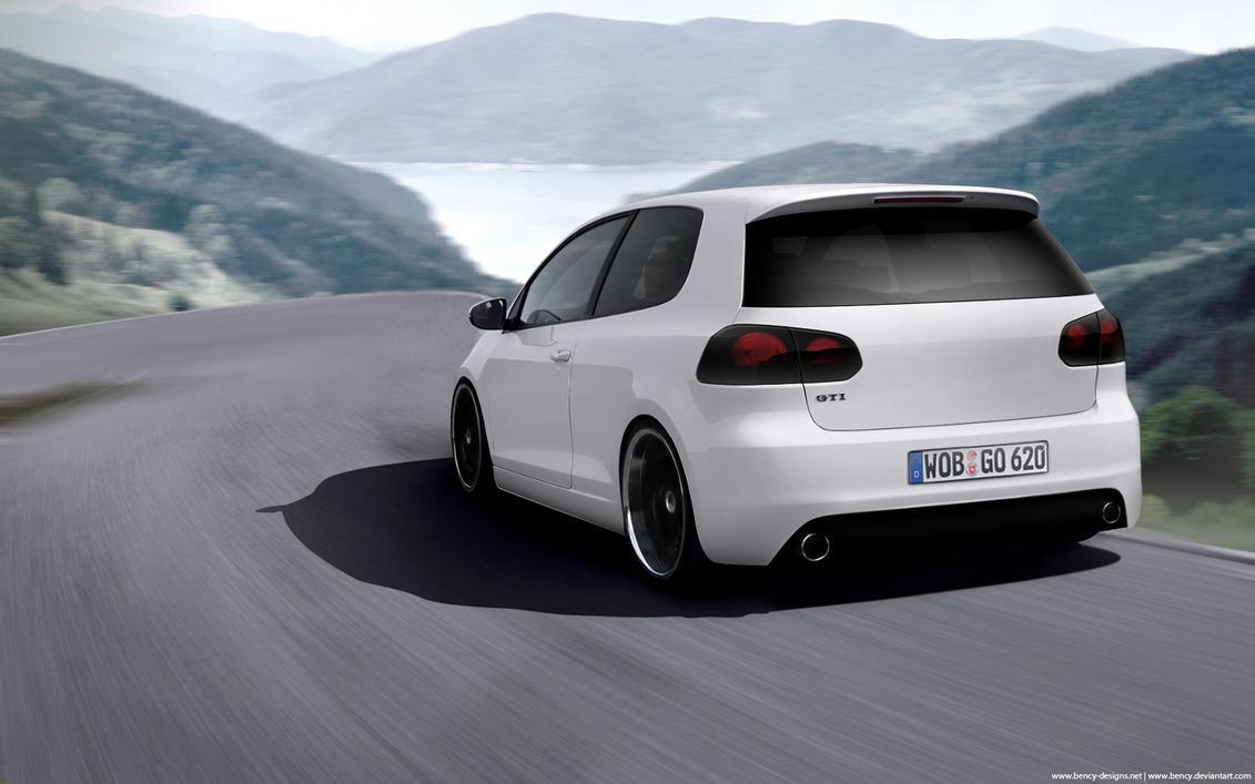 VW Golf VI GTI by Benjamin-Dandic