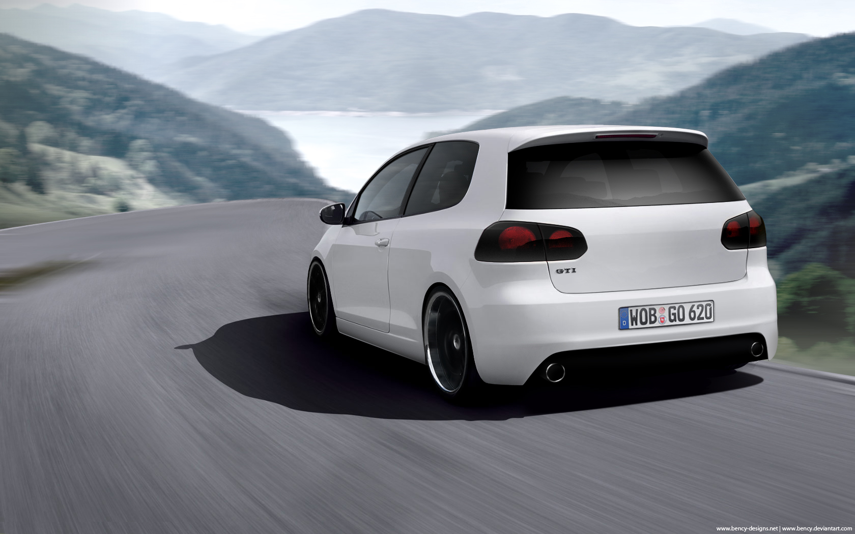 vw golf vi gti by benjamin dandic on deviantart. Black Bedroom Furniture Sets. Home Design Ideas