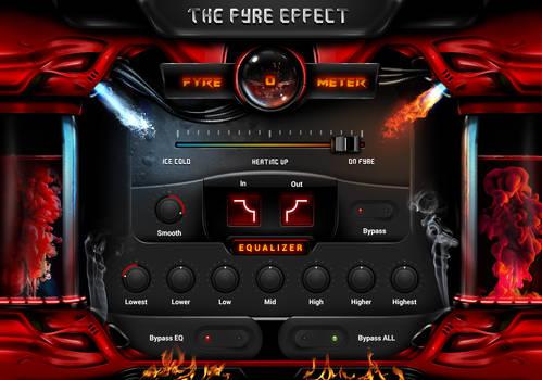 Fyre-o-meter FL Studio Interface