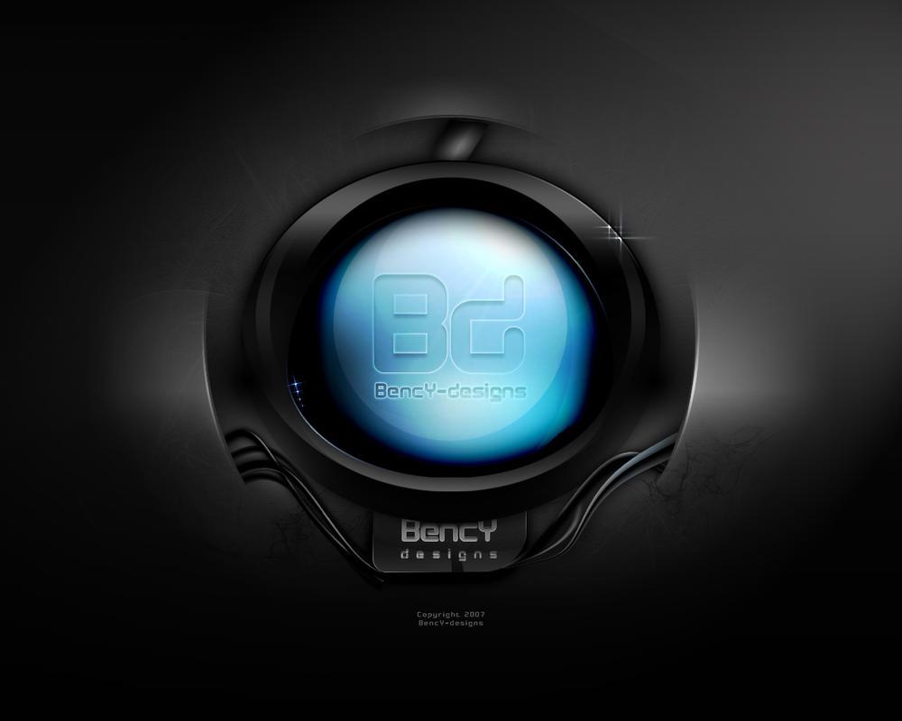 Blue orb by Benjamin-Dandic