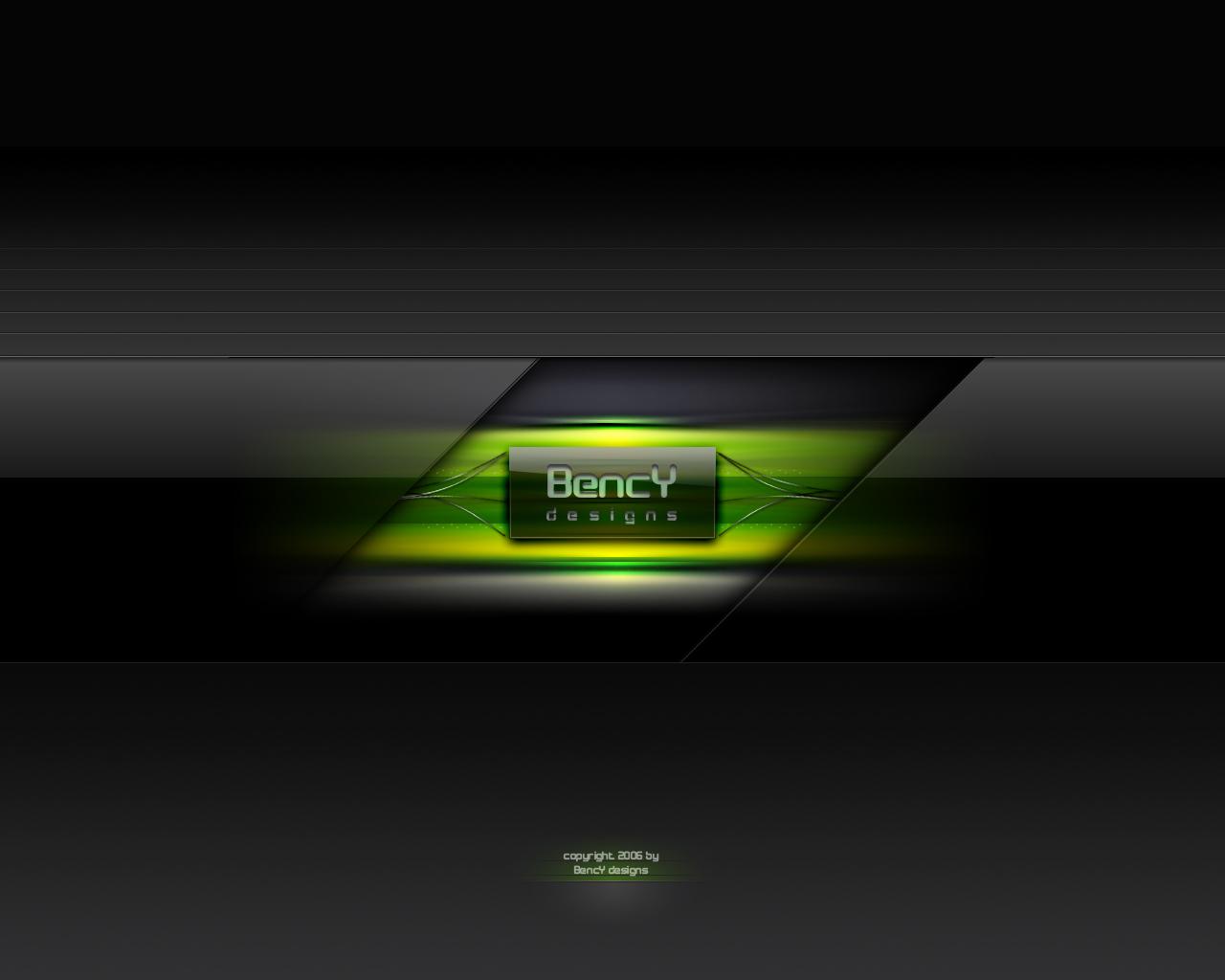 Green Wallpaper by Benjamin-Dandic
