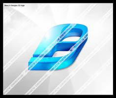 my first 3d logo