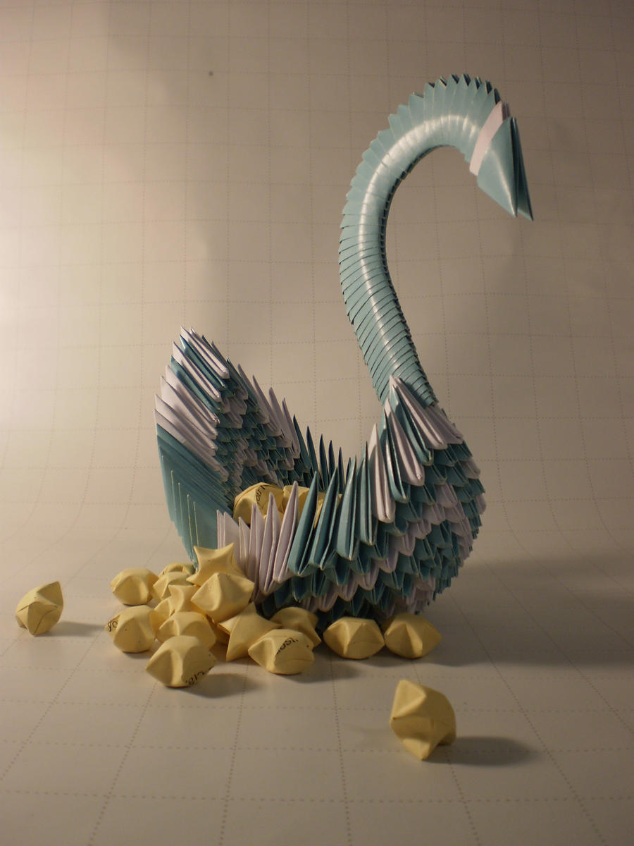 Blue Swan by blue1836