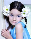 Blue Eyed Girl by TwilitesMuse