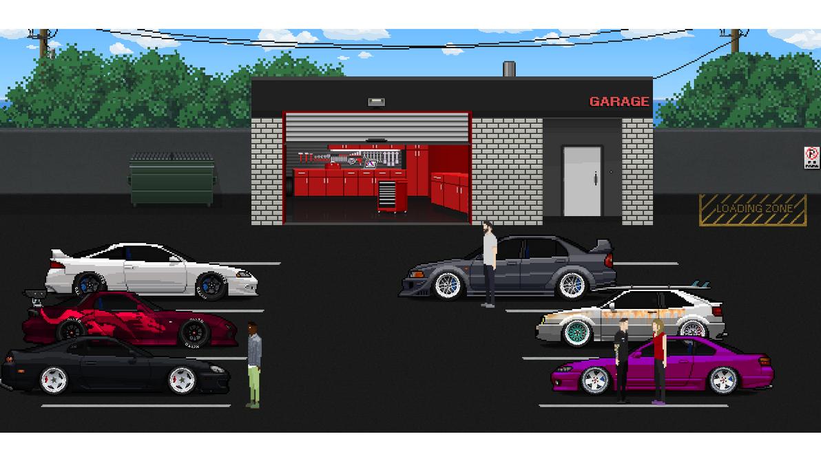 7anek jan deviantart for Garage pixel auto metz