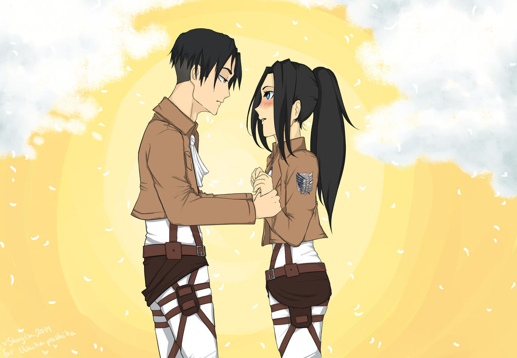 Levi and Norie for Uchiha-pushiha! by xShujin