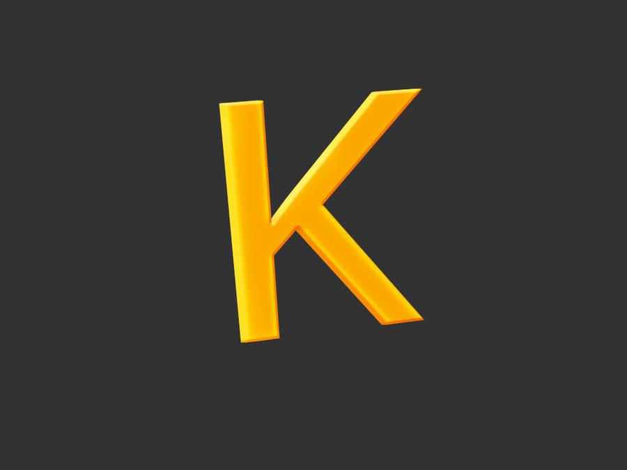 letter k wallpaper by nitroniuminc on deviantart