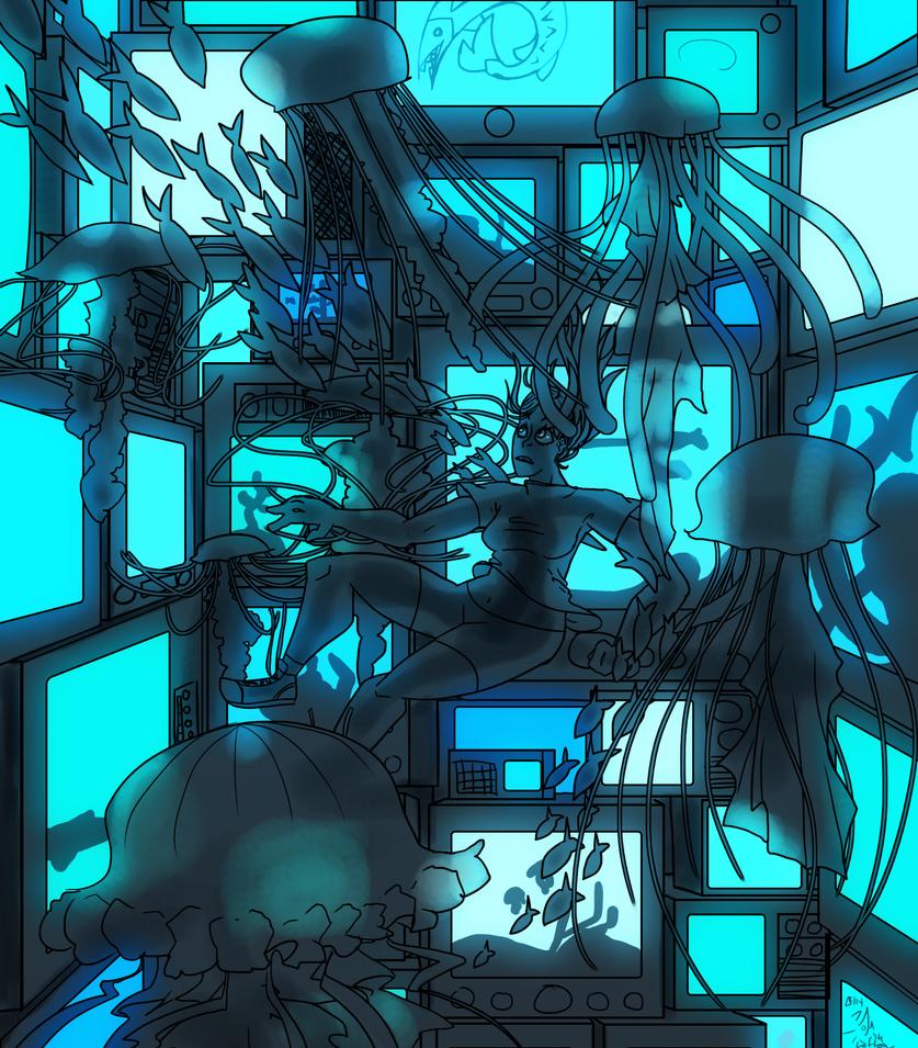 Blue Glow by asya173
