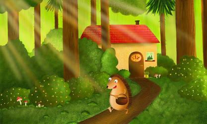 hedgehog by rozalek