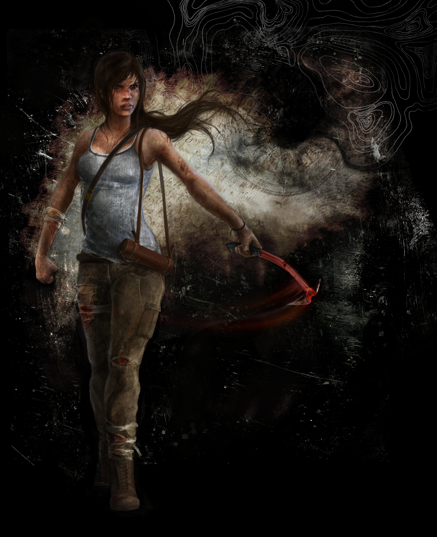 Lara Croft Reborn by emiliestabell
