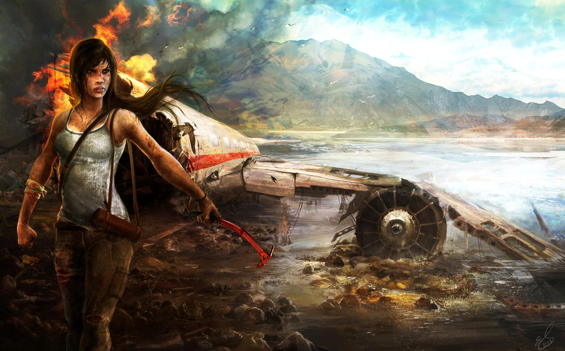 Lara Croft - A Survivor Reborn by emiliestabell