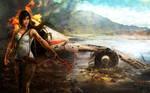 Lara Croft - A Survivor Reborn