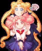 Bishoujo Senshi Sailor Moon Render by FabyRM