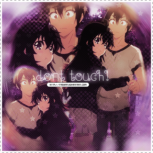 Don't touch by FabyRM