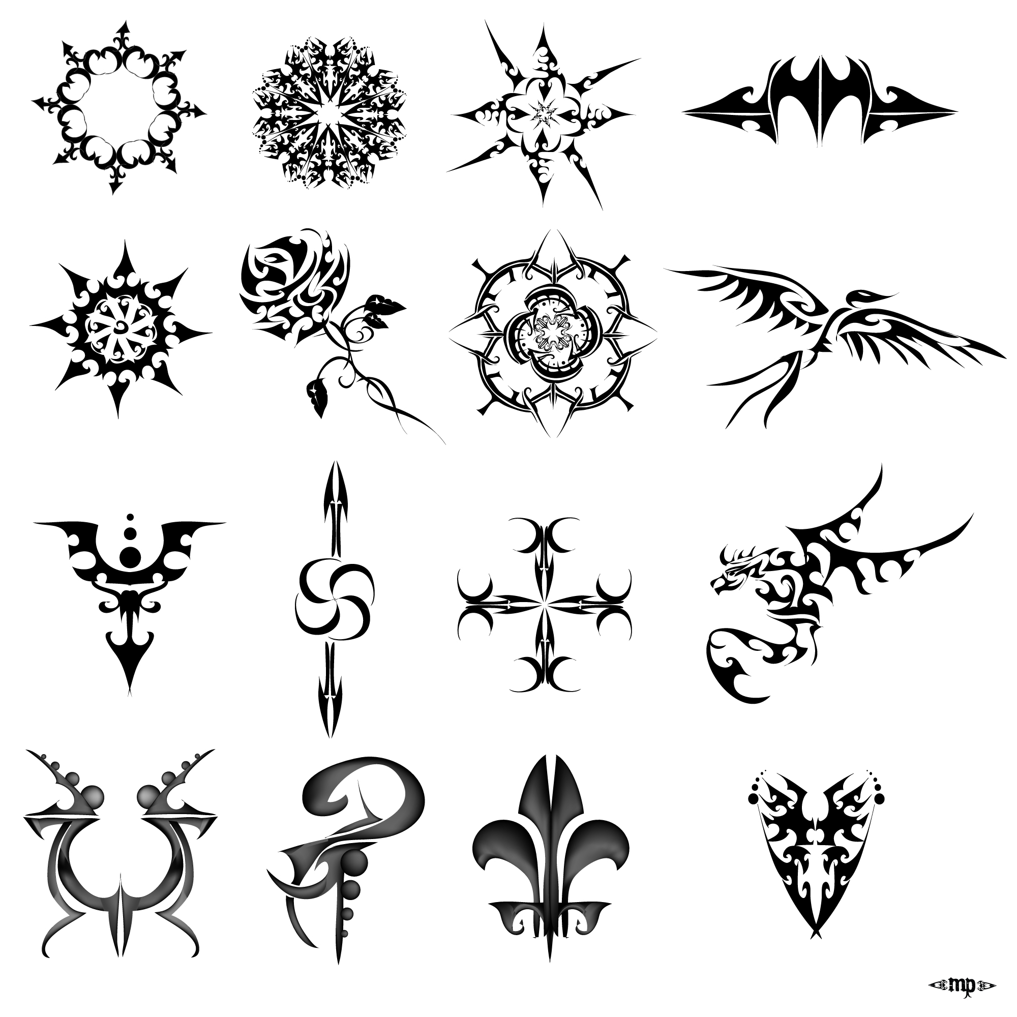 Some Tattoo Design By MPtribe On DeviantArt