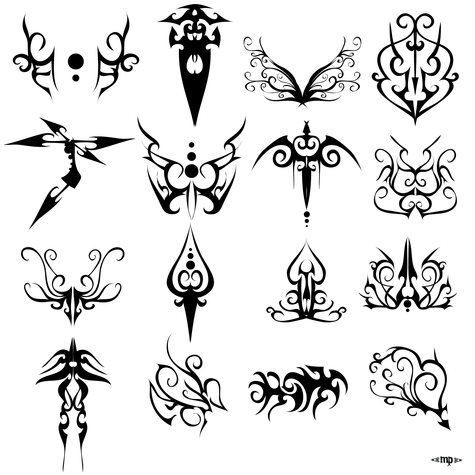 Some Tattoo Design Again... By MPtribe On DeviantArt