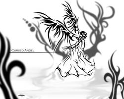 Cursed Angel... by MPtribe