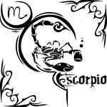 Zodiac Sign Tattoo : Scorpio