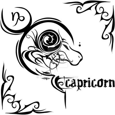 a4bb9bc69 Zodiac Sign Tattoo : Capricorn by MPtribe on DeviantArt