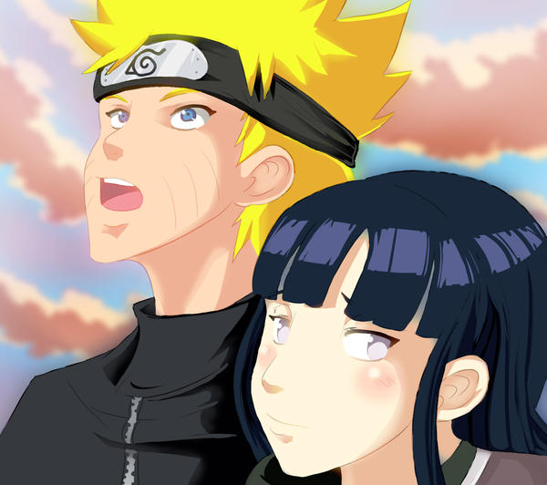 Naruto n Hinata by Gedanken