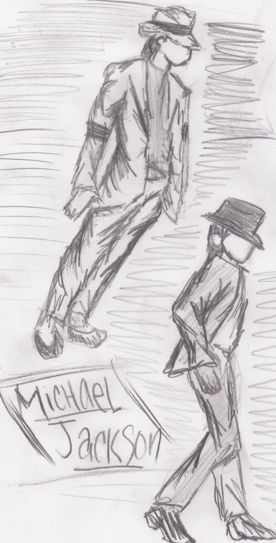 Michael Jackson Sketch by AustinTheTuna