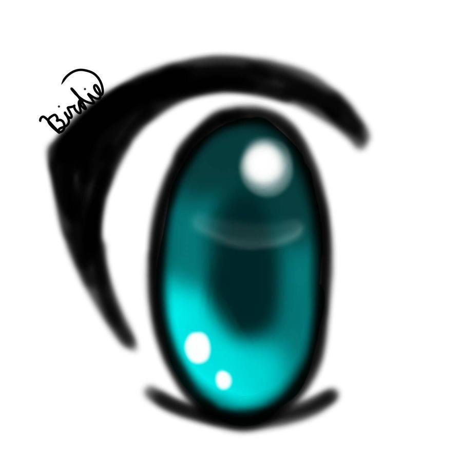 Blue Eye by BirdieBlueLapiz